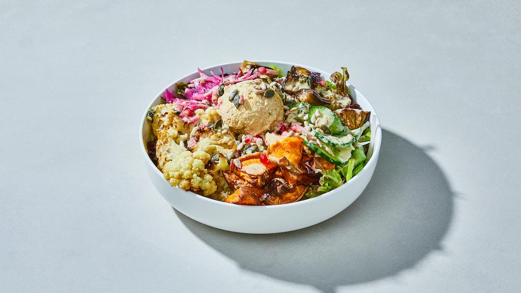 Oliver Green | Hummus Protein Bowl © Kubilay Altintas
